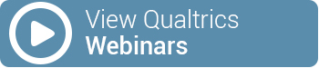 View Qualtrics Webinars